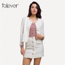 Women's Slim Jackets Women Harajuku Singer Button White Blazer Jacket 2018 Autumn Female Warm Festival Coat Plus Size Talever