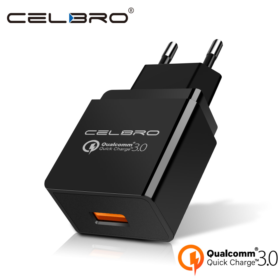 Quick Charge 3.0 USB Fast Charger QC3.0 Rapid Wall Charger Adapter for Samsung Xiaomi Huawei FCP Mobile Phone Charger Plug EU US Зарядное устройство