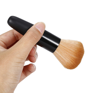 Image 5 - ELECOOL 1pc Professional Soft Synthetic Hair Women Face Cosmetic Makeup Loose Powder Blush Shadow Contour Make up  Brush Tool