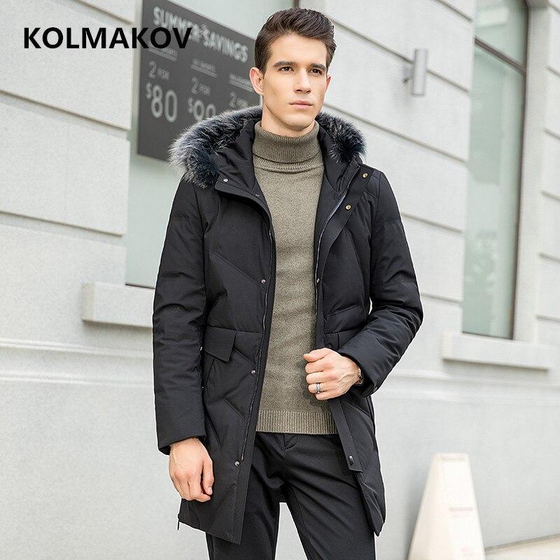 2018 Neue Ankunft Männer Unten Jacken Winter Hohe Qualität Mit Kapuze 90% Weiße Ente Unten Jacke Männer Winter Herren Warme Mantel Größe M-4xl Mutter & Kinder