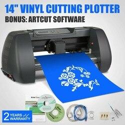 Cutting Plotter Desktop Machine Artcut Software Large Control Panel Buttons USB Port