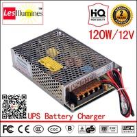SC 120 12 UPS 12V Output Battery Charger AC DC CE ROHS Approval CCTV 120W 8A