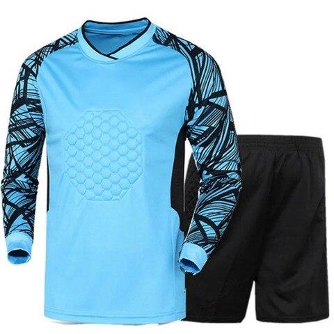 Soccer sets goalkeeper jerseys men football Survetement tracksuit goal keeper uniforms goalie sports training pants DIY Custom Lahore