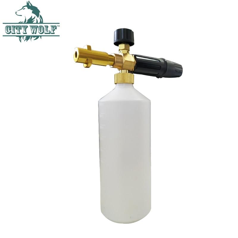 Image 2 - High Pressure Soap Foamer Sprayer/ Foam Generator/ Foam Gun Weapon/ Snow Foam Lance for Karcher K2 K3 K4 K5 K6 K7 Car Washer-in Car Washer from Automobiles & Motorcycles