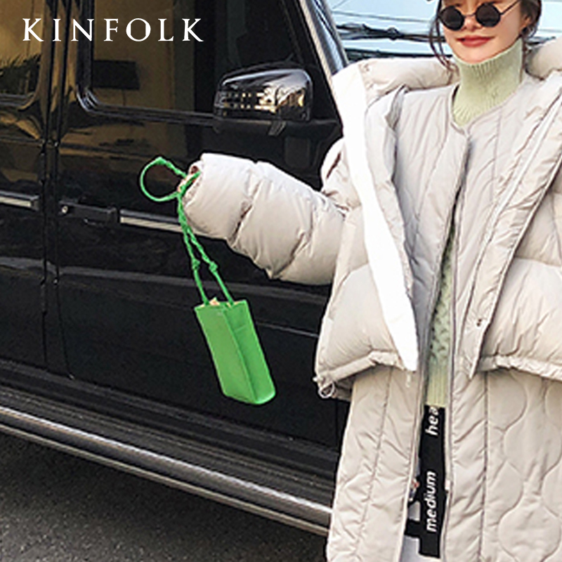 Green Square Bag Woven Rope For Women Clip Evening Bag Ins  Luxury Women's Banquet Party Purse Bags
