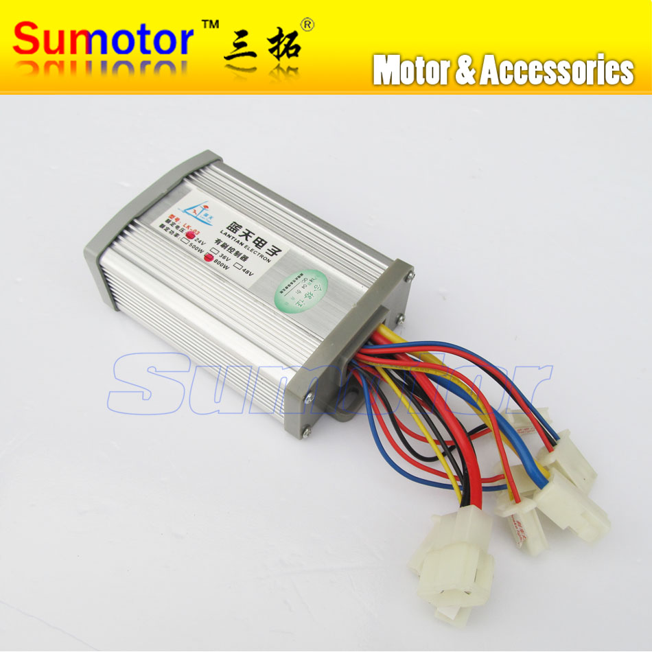 Buy 24v 800w brush speed controller for for Speed control for electric motor