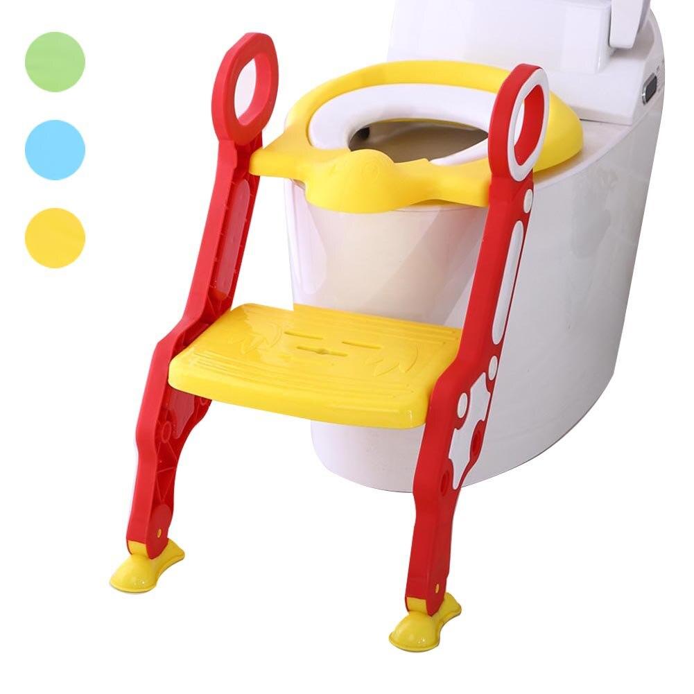 Bébé enfants pot siège avec échelle couverture toilette chaise pliante enfants pipi formation urinoir Potties @ ZJF
