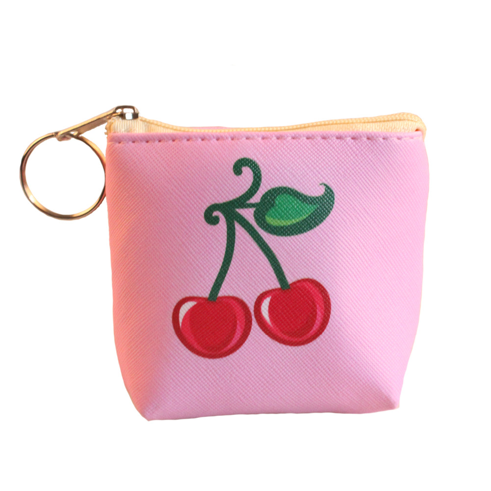 2017 new arrival coin purses cherry wallet child girl women change purse lady zero wallet coin bag promotion gift mara s dream new arrival small dot zero printed girl s coin purses wallet bag pouch brand lady mini wallet with metal buckle