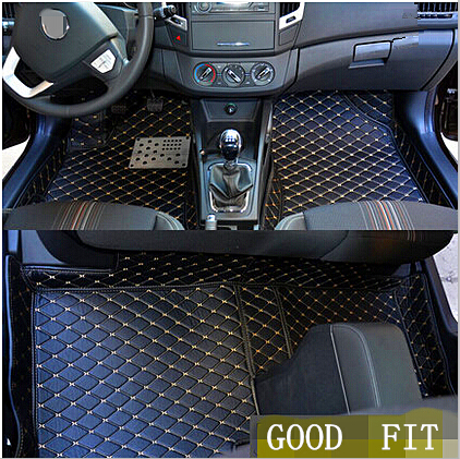 Best quality Custom special floor mats for Mercedes Benz ML 350 W166 2016 2012 waterproof carpets