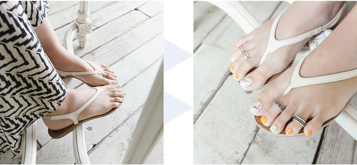 Amazing Quality in 925 Sterling Silver Toe Rings