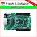 O envio gratuito de atacado RV901/RV801 rgb full color display led síncrono controlador/linsn Recebe O Cartão
