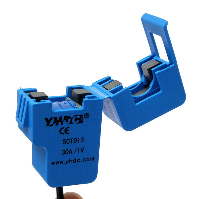 JFBL 2X YHDC 30A SCT013 0-100A Non-invasive AC New Sensor Split Core Current Transformer New jfbl 2x 15cm blue floral pattern roller