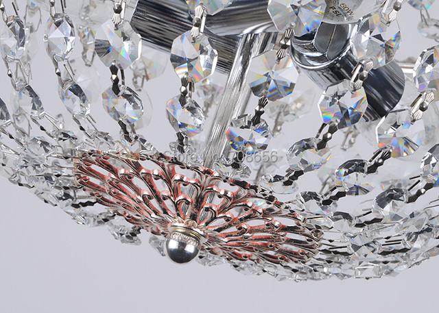 120 Meters Clear Glass Chandelier Wedding Crystal Lamp Bead Chain Prisms Strands Decor