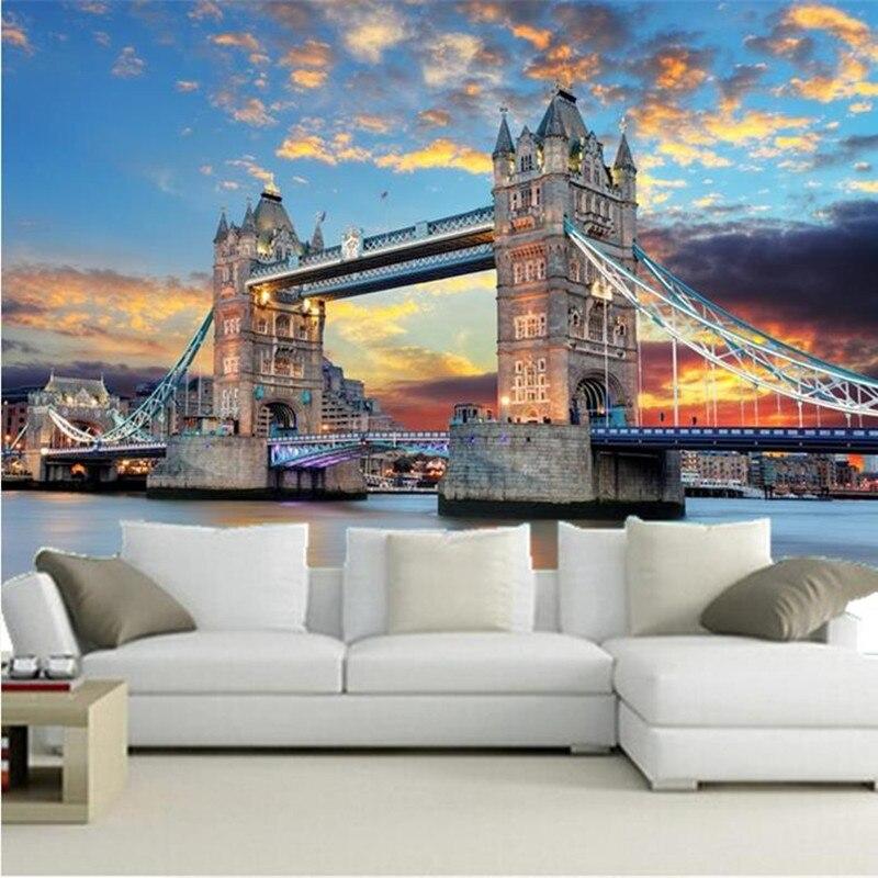 Londen slaapkamer behang promotie winkel voor promoties londen slaapkamer behang op - Behang london ...