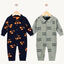 2019 new Baby Girl Clothes Winter Newborn Rompers Bebe Jumpsuit Knit Thick warm Toddler Costume Onesie Infant Boys Cotton romper стоимость