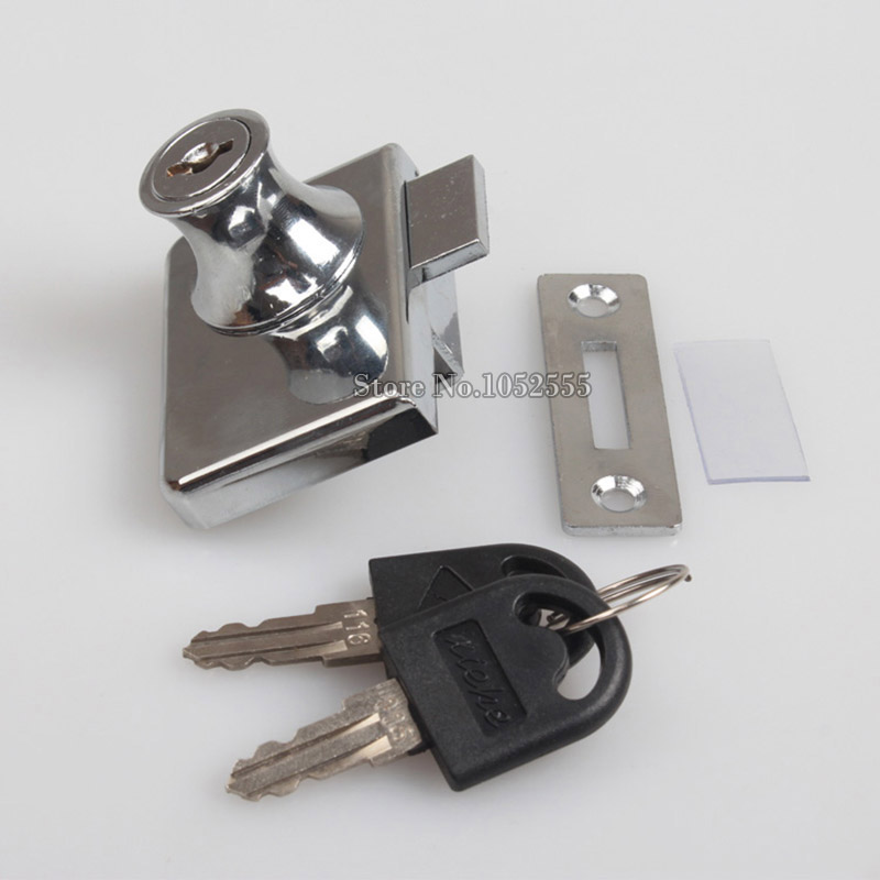 Locks For Kitchen Cabinets: HOT 5SET GLASS CABINET LOCK DOUBLE DOOR LOCKS PERFECT FOR
