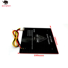 SUNPION 3d printer Accessorires MK3 24V150W Heat bed180mm*180mm*3mm Aluminum Heated Bed  for DIY 3D Printer Heatbed with Cable