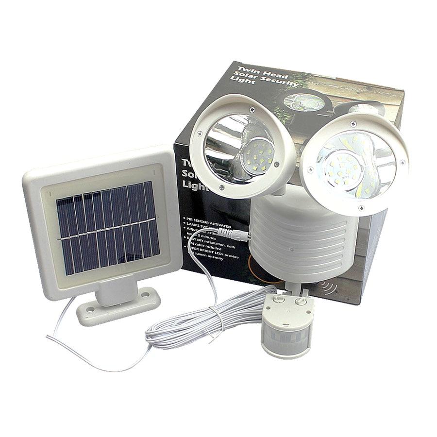 Newstyle 22leds LED Solar Light Twin Head PIR Bewegingssensor - Buitenverlichting - Foto 4