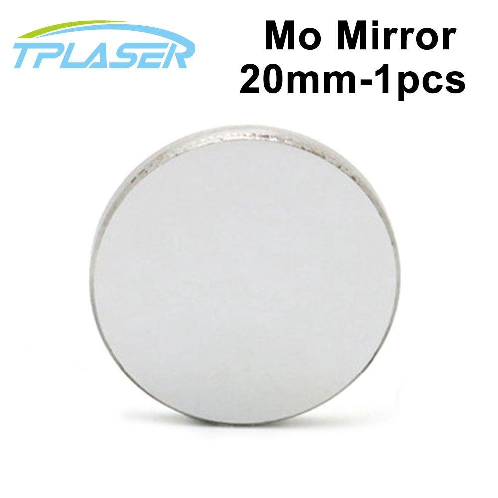 1 Stücke Mo Co2 Laser Reflektieren Spiegel 20mm Durchmesser 3mm Dicke Für Co2 Laser Gravur Und Schneiden Maschine GroßEr Ausverkauf