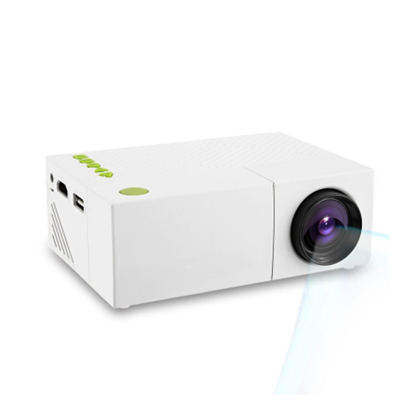 Yg310 portable lcd projector hd 400 600 lm 1080p av usb for Portable pocket projector reviews