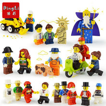 POGO 20pcs/lot Marvel DIY Figures City Wedding Style Building Blocks Set Legoingly Ninjagoe Educational Toys For Children gifts(China)