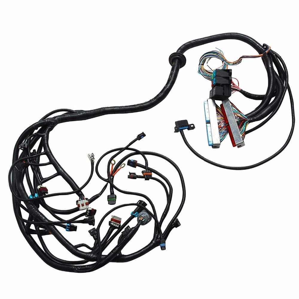 ls1 ls6 5 7l ev1 24x engine standalone ls wiring harness w 4l60e transmission [ 1000 x 1000 Pixel ]