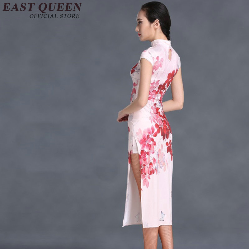 46ba33e64cc42 Chinois traditionnel robe femmes robe chinoise qipao côté fente cheongsam  chinois style moderne chinois oriental robes KK101 dans Cheongsams de  Nouveauté ...