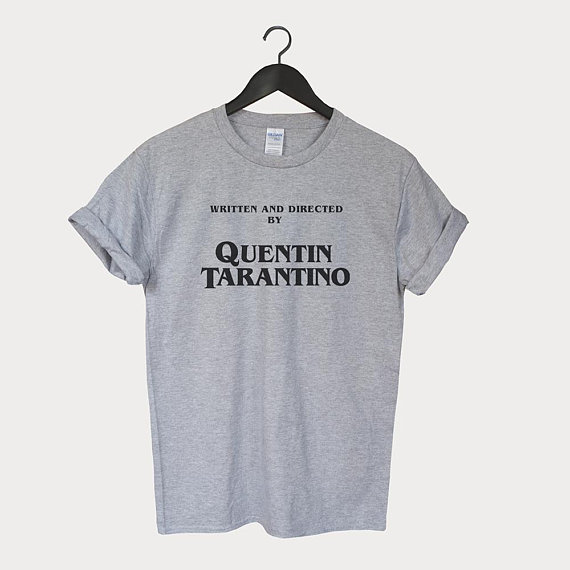 Written by Quentin Tarantino t-shirt unisex top Tumblr 90's Shirt Unisex More Size and Color-F004