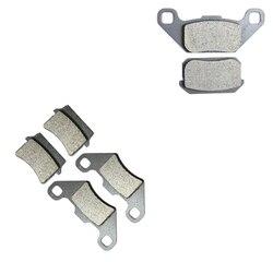 Conjunto de pastilhas de freio apto para hammerhead buggies atv es150 es 150 s supersport 11r 2008 2009/explorer atv 300 2x4x4 ranger 2008 2009
