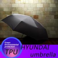 for Hyundai auto mobile automatic folding umbrella Hyundai logo car printing pattern sunshine automobile accessories