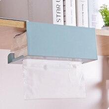 Коробка для салфеток полки для шкафов бумажная Полка для полотенец кухонная коробка для салфеток держатель под шкаф из нержавеющей стали держатель для туалетной бумаги стойка