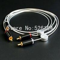 Бесплатная доставка KS kingsnake серии Signature 5 n чистого серебра 5 n Чистая медь RCA Межблочный кабель