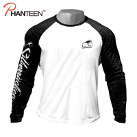 MUTANT Fitness Men's Long Sleeve T Shirt Muscle Stronger Gym Sportswear Training Exercise Workout Bodybuilding Pullover