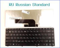Rosyjski wersji RU klawiatura do ASUS K40A K40AC K40AD K40AF K40ID K40IE K40AE K40C P80 P80A na laptopa Zamienne klawiatury Komputer i biuro -
