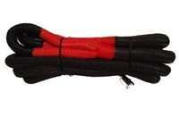 Free Shipping 25mm 9m Recovery Rope 1 Kinetic Recovery Rope For Offroad Parts Tow Rope Car