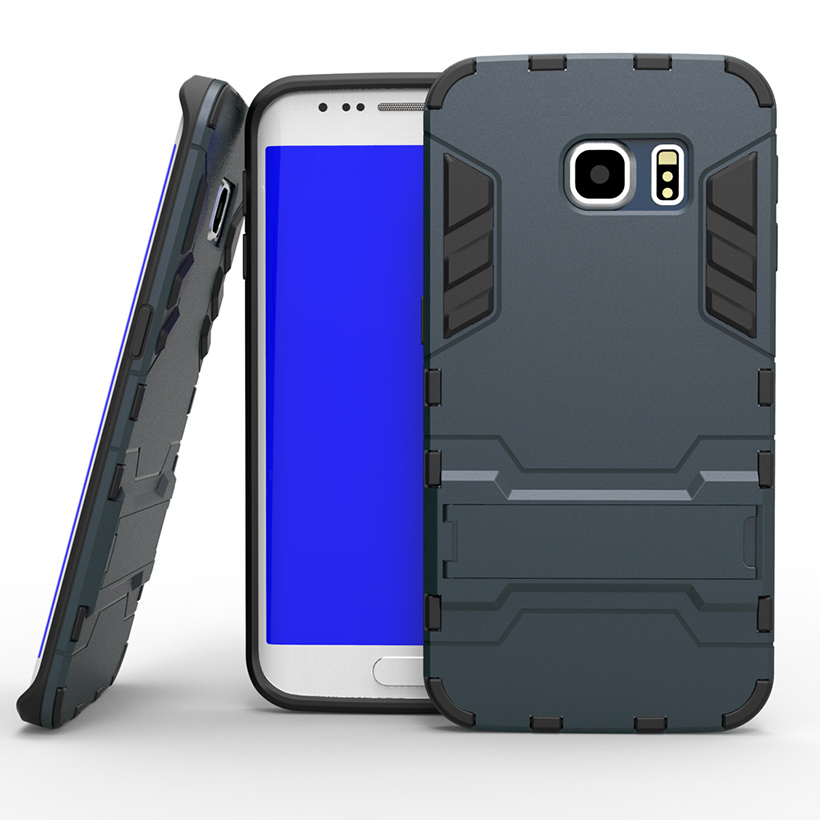 PC+PU Hybrid Phone Case Cover For Samsung Galaxy SVI G9200 S6 9208 9209 G920 5.1 inch G920F G920A Case Military Armor Housing