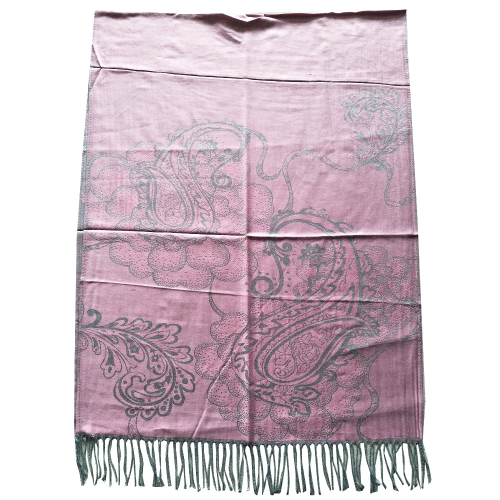 mujer women pashmina scarfs wraps long scarfs bufandas invierno silk shawls luxury soft scarf paisley jaccquard stole shawls in Women 39 s Scarves from Apparel Accessories