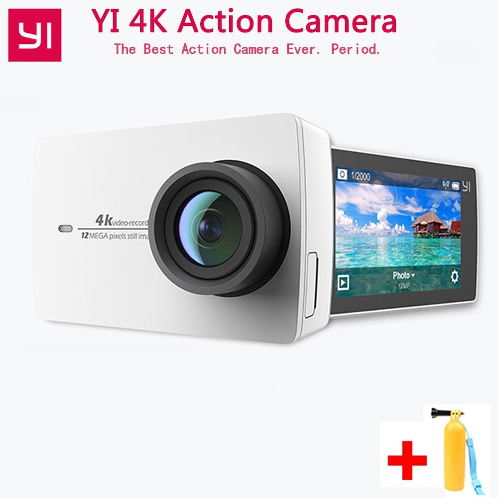 Xiaomi YI 4 K Экшн-камера 4 K/30 2,19 1080 P HD IMX377 12MP 155 градусов EIS LDC YI Спортивная экшн-камера Wifi с Bluetooth