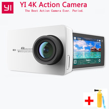 "Экшн-камера Xiaomi YI 4 K 4 K/30 2,19 ""1080 P HD IMX377 12MP 155 градусов EIS LDC YI Спортивная экшн-камера Wifi с Bluetooth(China)"