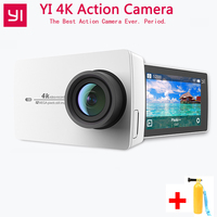 Xiaomi YI 4K Action Camera 4K/30 2.19 1080P HD IMX377 12MP 155 Degree EIS LDC YI Sport Action Camera Wifi With Bluetooth