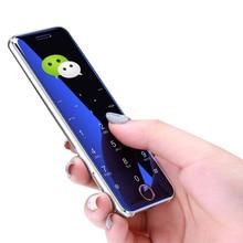 Мини-телефон Ulcool V66 bluetooth dialer 1,67 дюймов ультра тонкий металлический корпус мобильный телефон fm-радио две sim-карты маленький мобильный телефон