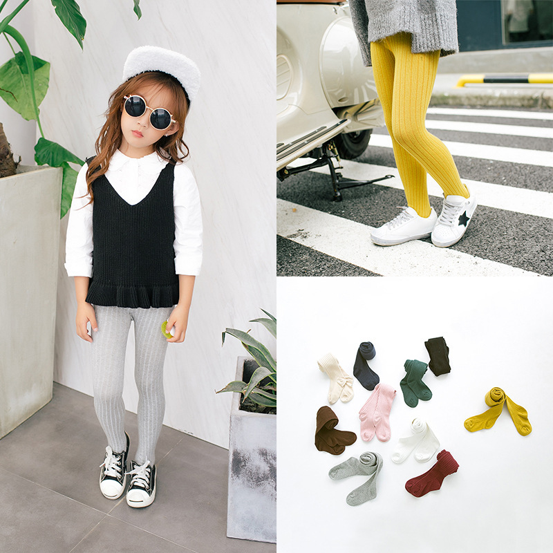 2016 Colorful Soft Children Clothing Stocking Candy Color Toddler Kids Tights High-end Infant Baby Pantyhose Suit For2-6Y 14-341 стоимость