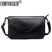 COMFORSKIN Brand Ladies Messenger Bags Cow Leather Bolsos Mujer Women Bag 2017 New Arrivals Shoulder Bag Women Leather Handbag cow leather shoulder bag brand 2018 new messenger bag women 100% genuine leather handbag fashion bucket bag