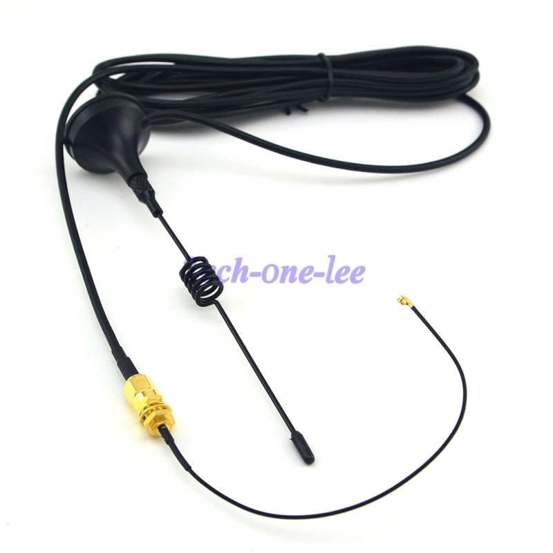 Antena 433 MHz 5dbi SMA Złącze wtykowe Prosto Wifi dla Ham Radio + - Sprzęt komunikacyjny - Zdjęcie 2