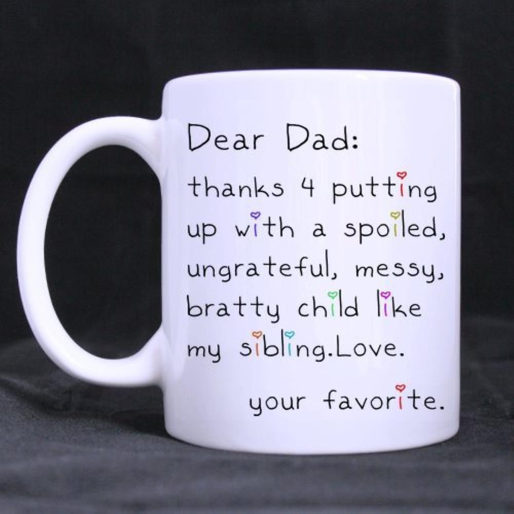 Funny Quotes Printed Coffee Mug Father's Day Gift