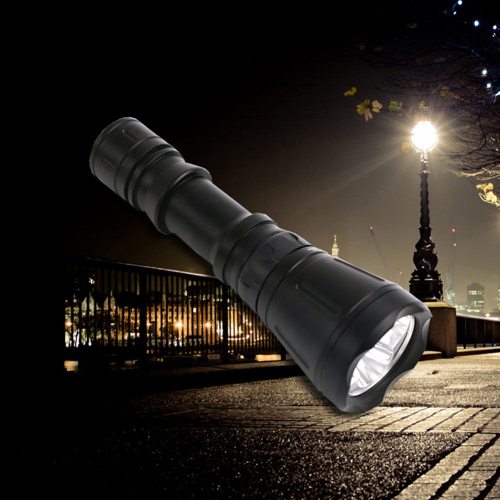Professional IPX8 LED Diving Flashlight 5400 Lumen Lamp Torch XM-L T6 LED Chip 8 Switch Modes Underwater Portable Lamp nitecore p10 searchlight torch cree xm l2 t6 led 800 lumen 9300 beam intensity ipx 8 waterproof portable flashlight