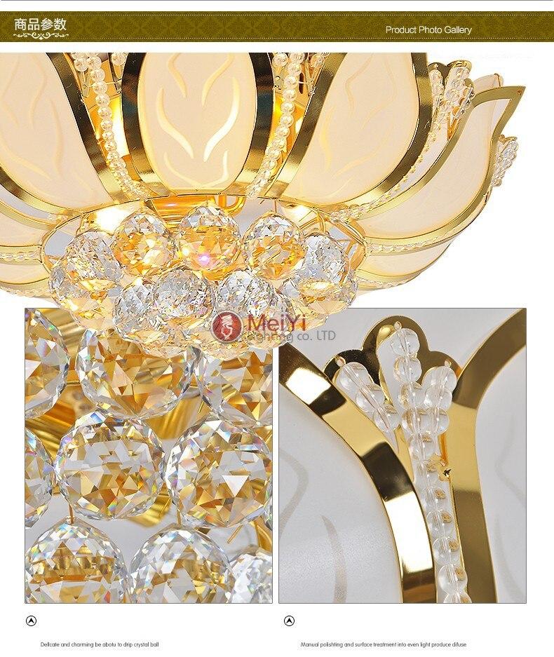 Glass Flower abajur Lamp 10