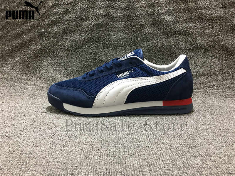 ... PUMA Men s Jogger OG Sneaker Whirlwind Classic Badminton Shoes Leather  Lightweight Mesh Comfort Breathable Shoes Size ... aec8c471d