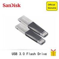 Sandisk OTG USB Flash Drives 16GB 32GB Pendrive 64GB 128Gb Pen Drive 3.0 USB Flashdisk For iPhone iPad iPod APPLE MFi JetDrive
