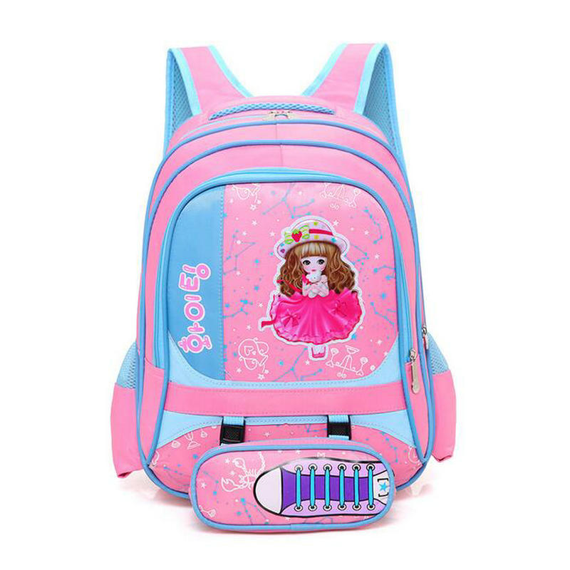 2018 New Fashion Children School Bags For Girls And Boys High Quality Kids Bookbags Baby Backpack In Primary School Backpacks